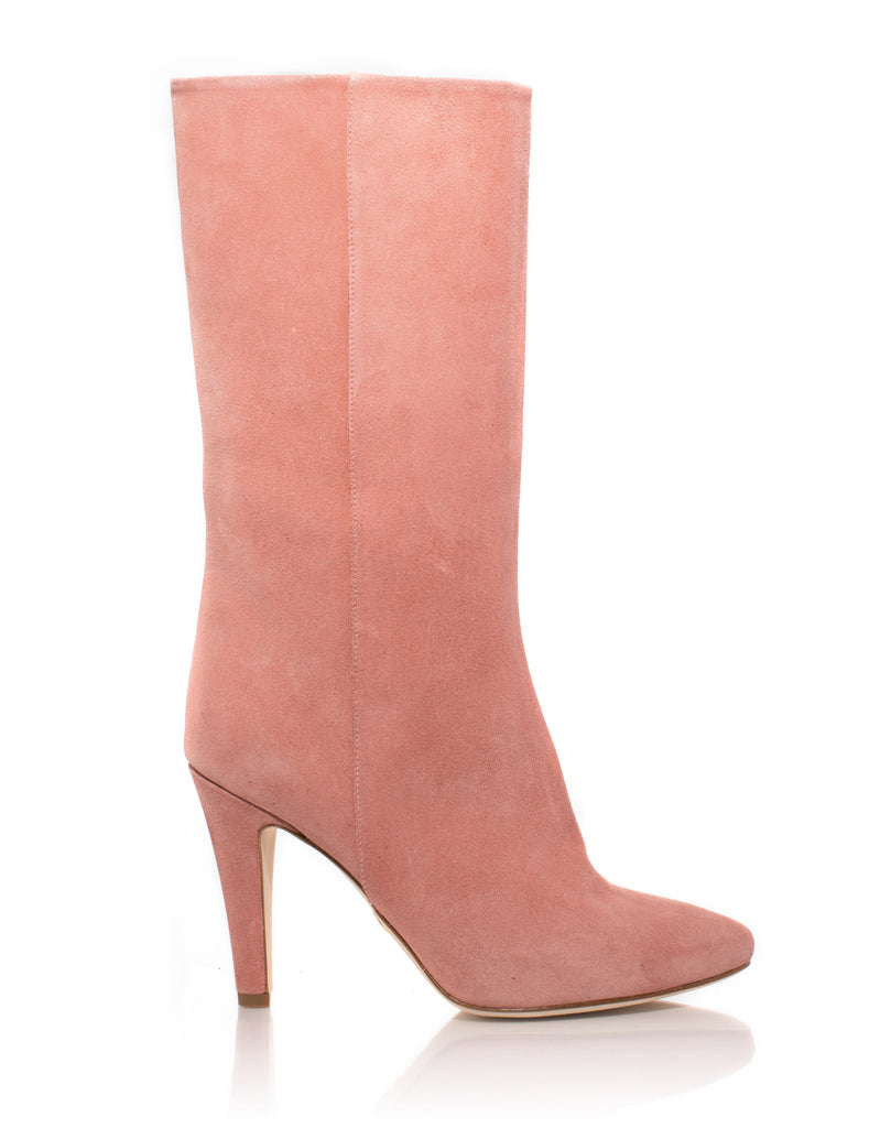 Palms Boot in dusty Rose Suede