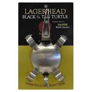 Black & Tan Turtle Spoon & Bottle Opener