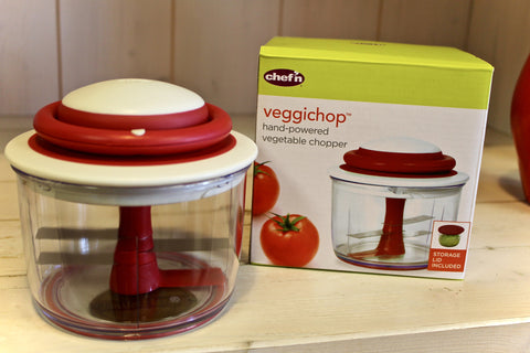 Veggichop Hand-Powered Vegetable Chopper