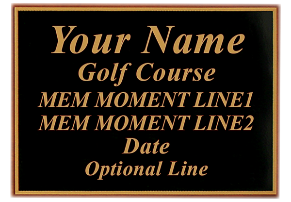 "Custom-Laser-Engraved-Plaque-for-Memorable-Moments-Ball-&-6""x8""-Scorecard-Display-My-Golf-Memories-Close-Up"