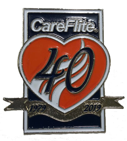 Lapel Pin - 40th Anniversary