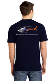 T-Shirt - Short Sleeve Ring Spun Cotton Bell 429 Helicopter