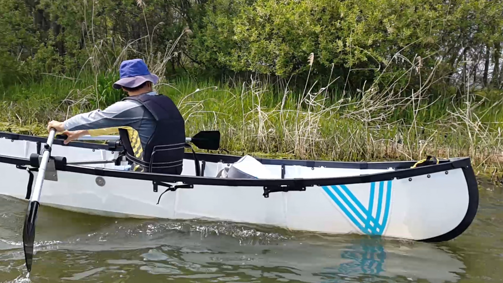 Certified MYCANOE Plus w/ Rowing Kit