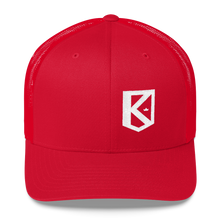 Load image into Gallery viewer, K-Badge trucker snapback (unisex)