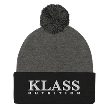 Load image into Gallery viewer, Klass Pom Pom Beanie
