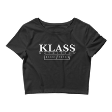 Load image into Gallery viewer, Klass Crop Top Tee