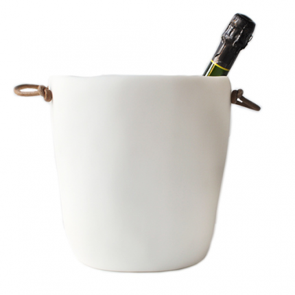 Tina Frey Resin Champagne Bucket