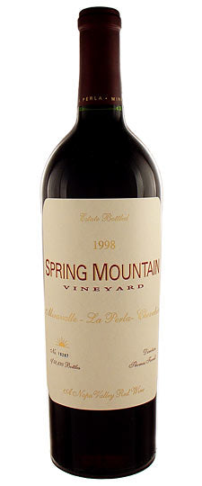 Spring Mountain Vineyards Cabernet 1998