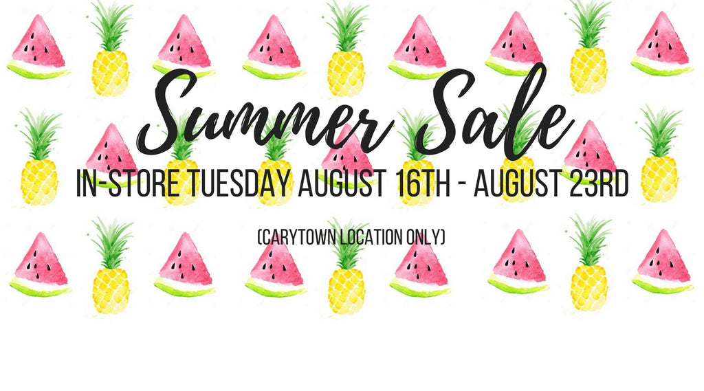 Carytown Shopping: Summer Sale!