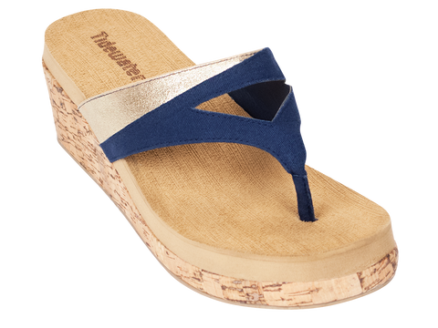 Beach Haven Wedge Sandals - trendva