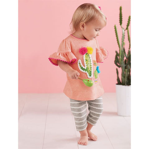 Cactus Capri Set (Children's ) - trendva