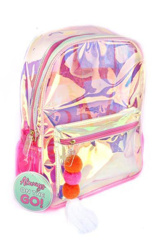 Iridescent Backpack - trendva