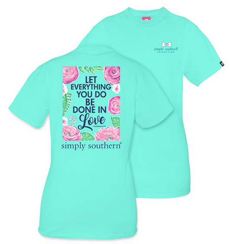 """Let Everything You Do Be Done In Love"" Tee - trendva"
