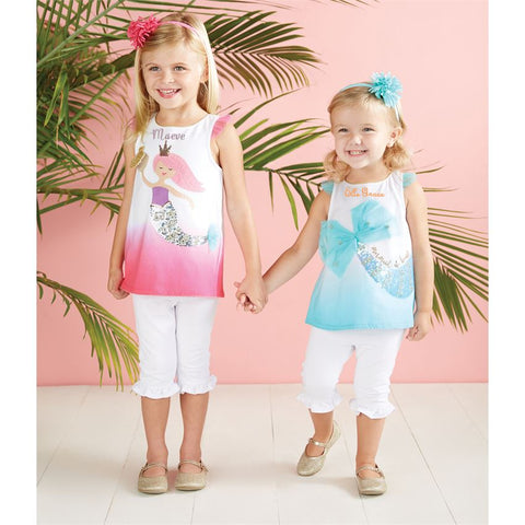 Sequin Mermaid Tunic (Children's) - trendva
