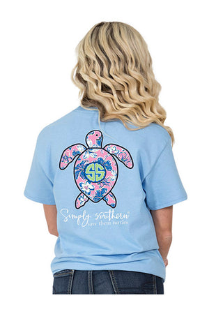 Simply Southern Save Them Turtles T-Shirt