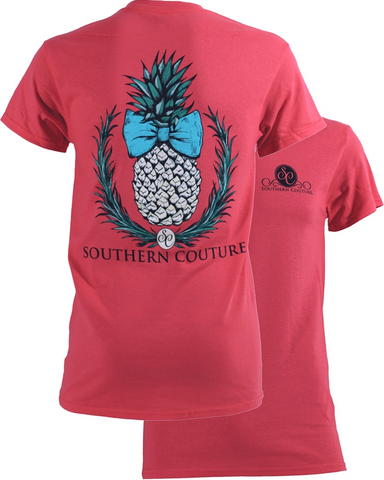 Southern Couture Pineapple Tee - trendva