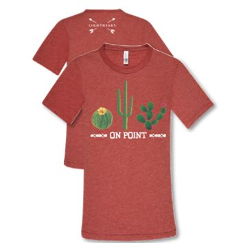 """On Point"" Cactus Tee - trendva"