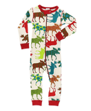 """Patterned Moose"" Family PJ Collection - trendva"