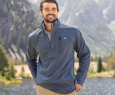 Men's Performance Pullover - trendva