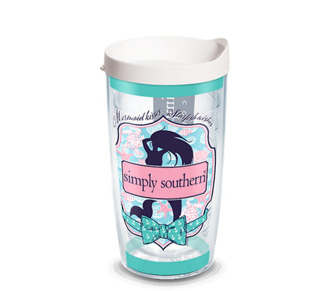 Simply Southern Mermaid 16oz Tervis - trendva