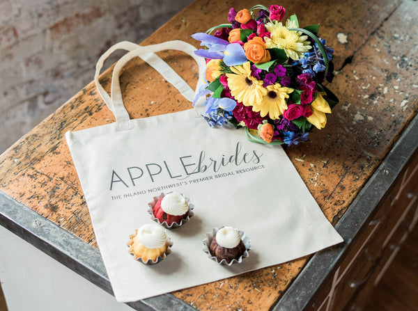 Apple Brides Tote Bag
