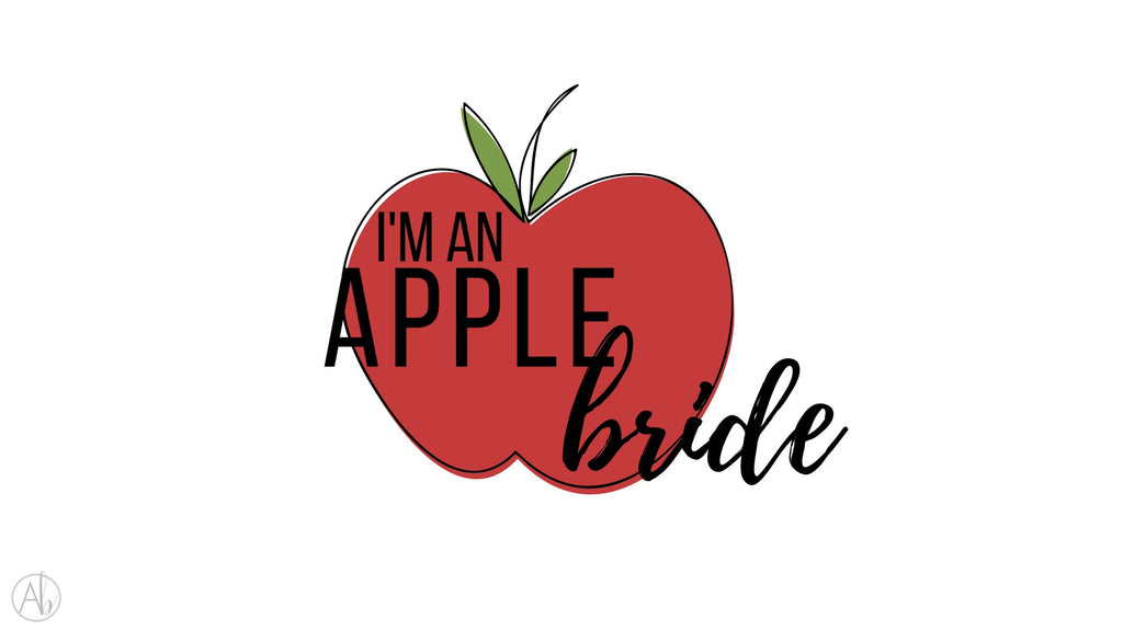 I'm An Apple Bride Desktop Background