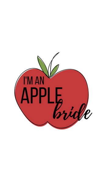 I'm An Apple Bride Phone Background
