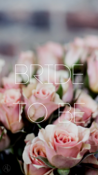 Bride To Be Phone Background
