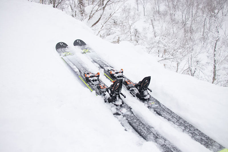 Skiing in Japan with Volkl