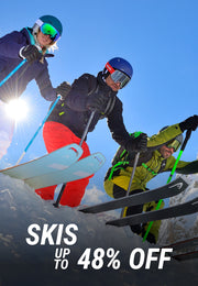 Skis up to 48% off