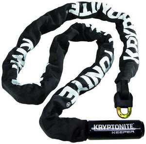 Kryptonite Keeper 712 Integrated Chain Black O/S