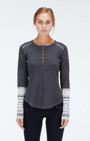 Alp N Rock Katrina Ladies Relaxed Fit Henley 2020