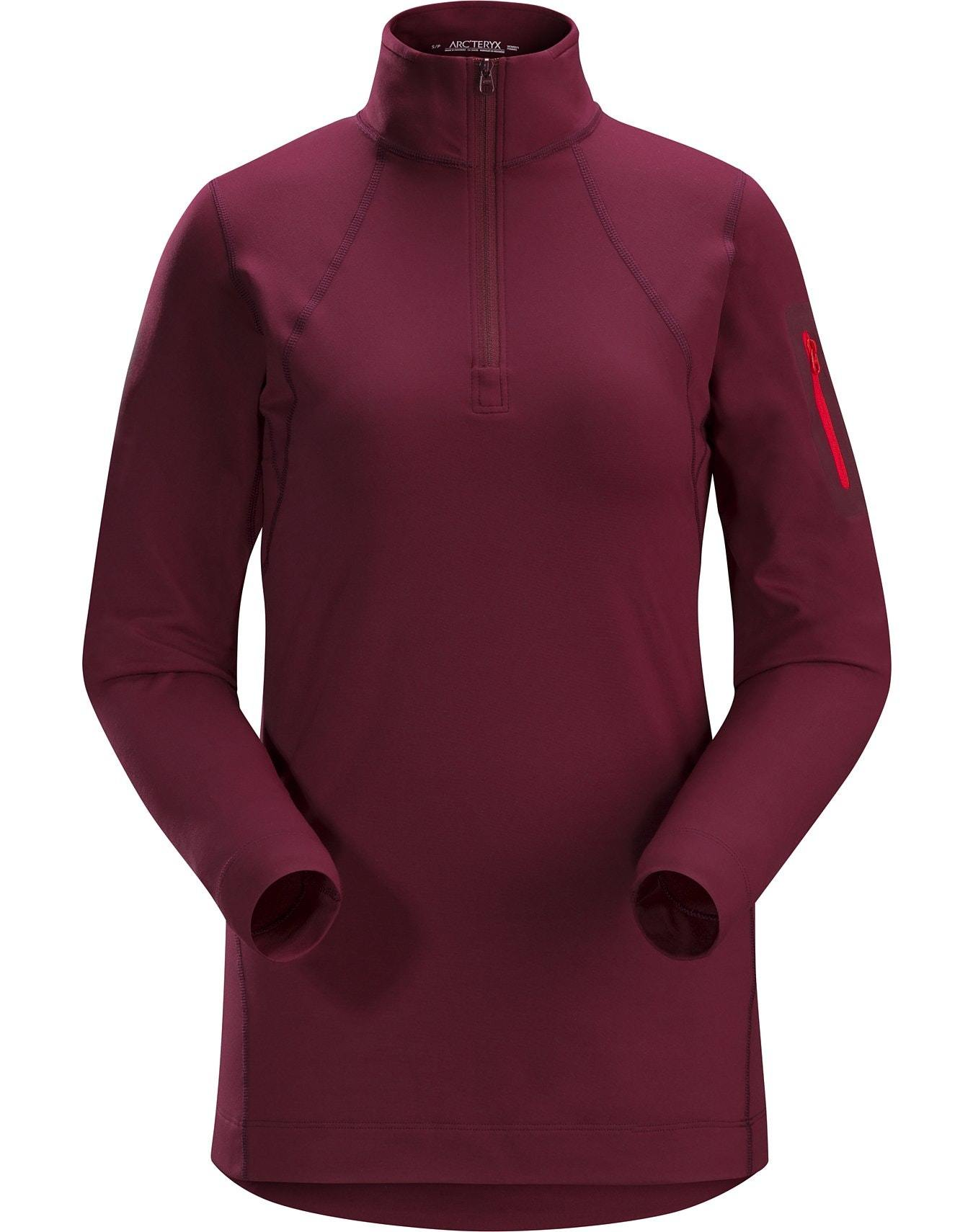 Arcteryx Rho LT Ladies Zip Neck 2019