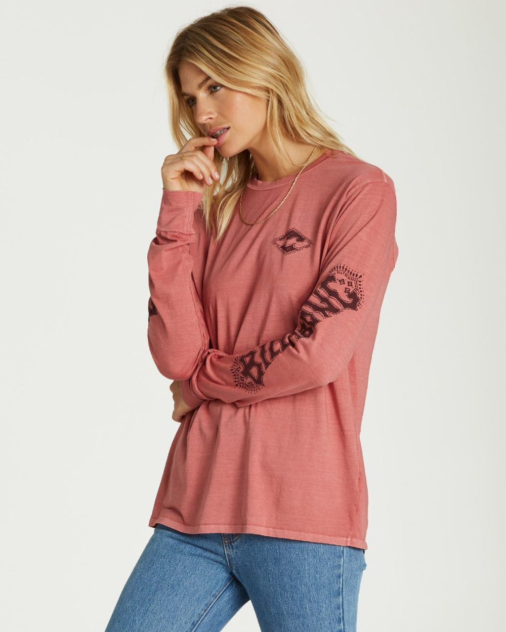 Billabong Painted Logo Ladies Long Sleeve 2020