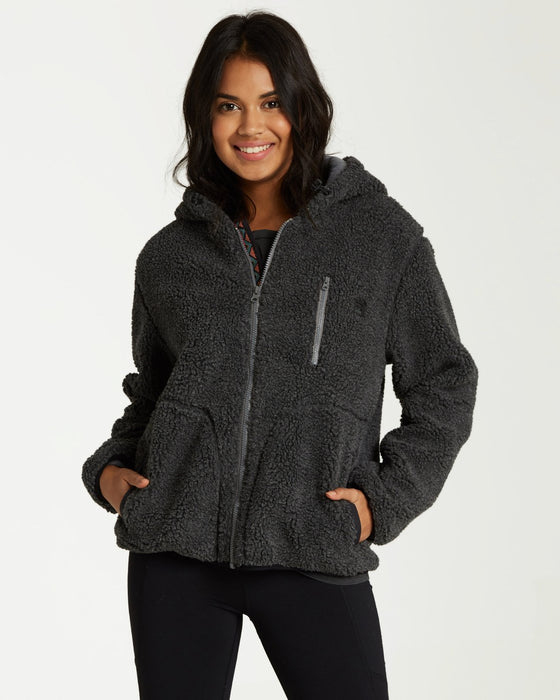 Billabong Switchback Ladies Sherpa Jacket 2020