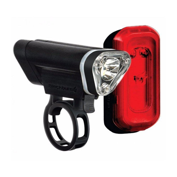 Blackburn Combo Local 50 Front + 10 Rear Light Set