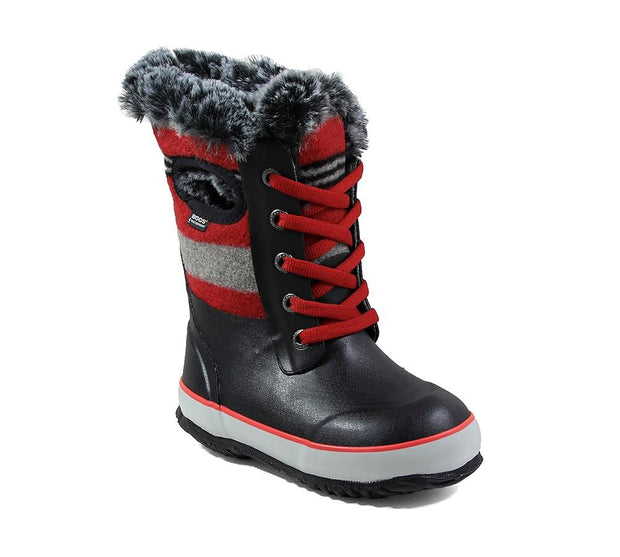 Bogs Arcata Wool Stripe Junior Boot 2019