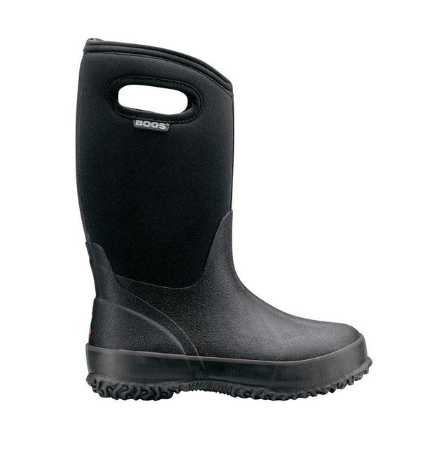Bogs Classic Black with Handles Junior Boot 2018