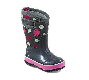 Bogs Classic Sketched Dots Junior Girls Boot 2019