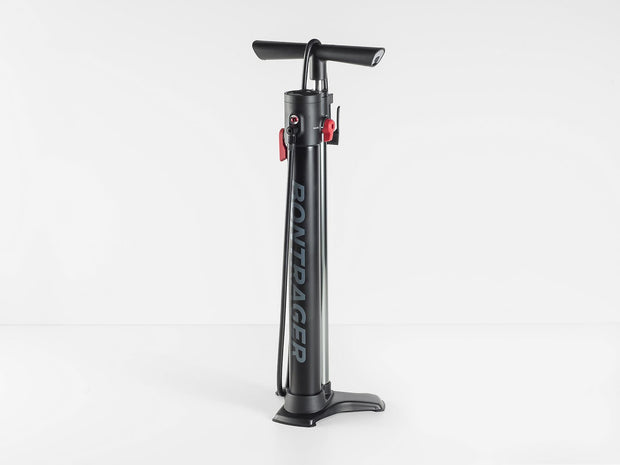 Bontrager TLR Flash Charger Floor Pump Black