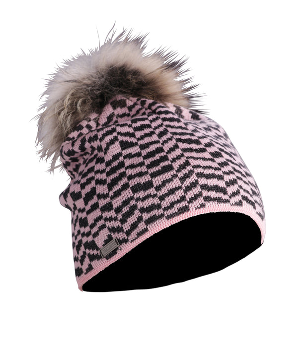 Descente Teagon Fur Pom Ladies Hat