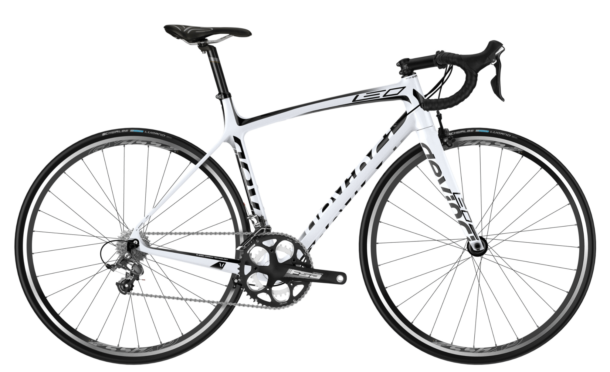 Devinci Leo Tiagra WF Bike White Black M