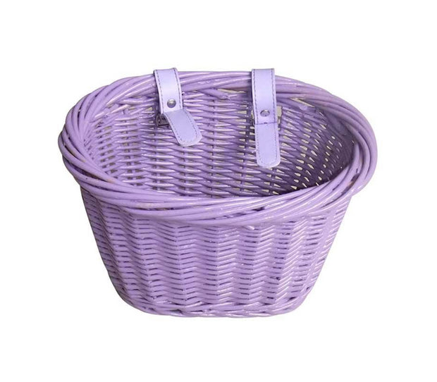 EVO E-Cargo Wicker Junior Bike Basket