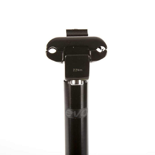 Evo E-Force Seatpost 400 x 27.2 mm Black