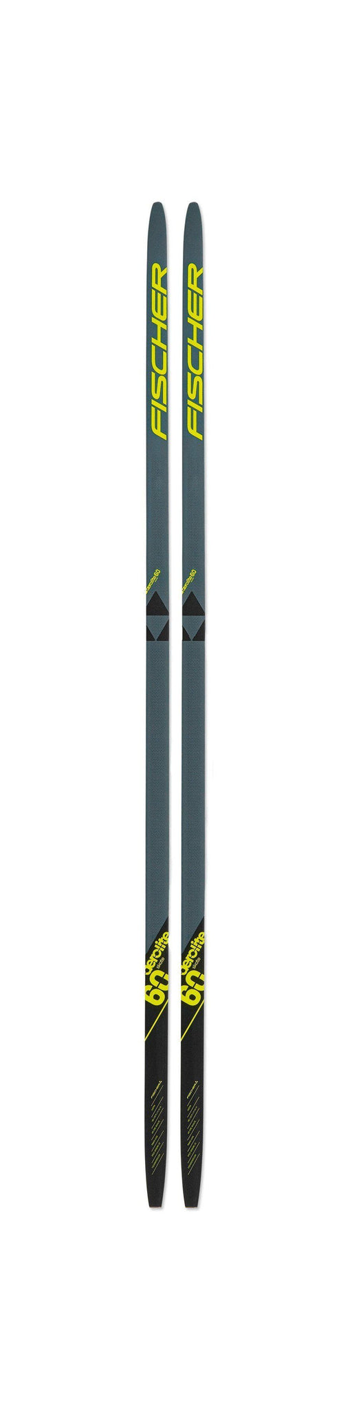 Fischer Fibre Crown EF Nordic Skis with Step-In IFP Bindings