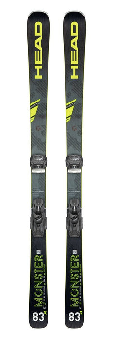Head Monster 83X  SW Skis + Attack 11GW Bindings