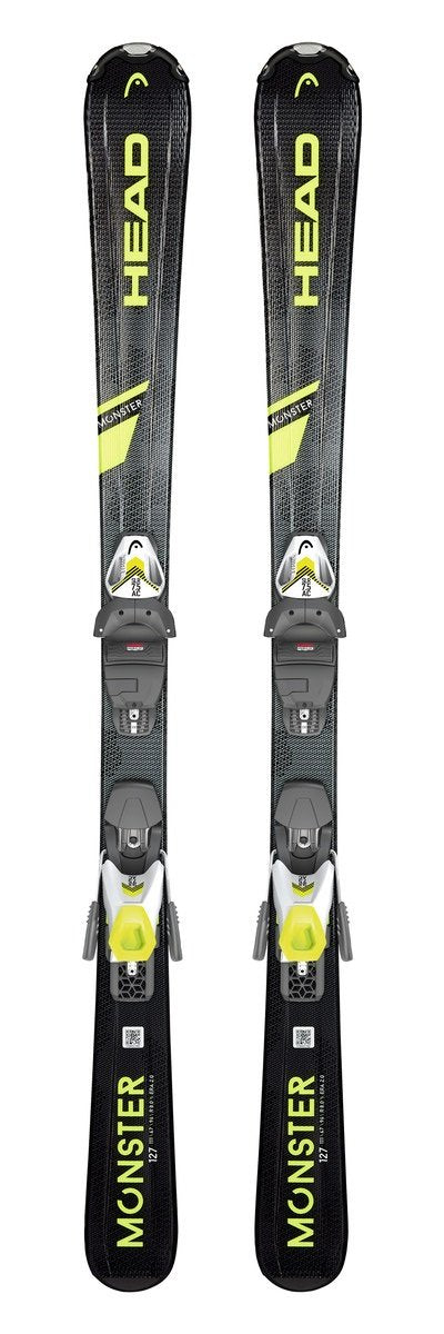 Head Monster SLR Pro Junior Skis with SLR 7.5 AC Bindings 2020