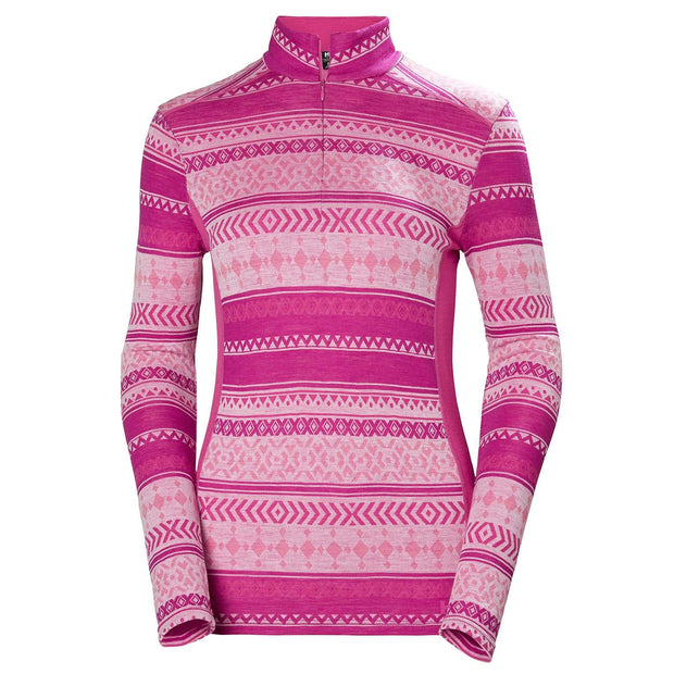 Helly Hansen Merino Mid Graphic Ladies Half Zip 2020