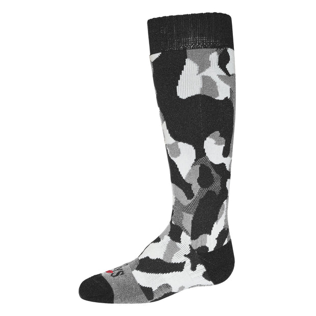 Hot Chillys Camo Youth Mid Volume Sock