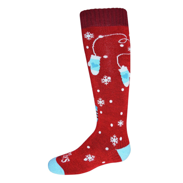Hot Chillys Mittens Youth Mid Volume Sock